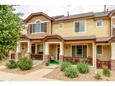 Castle Rock Condo/Townhouse Under Contract: 1344 Royal Troon Drive