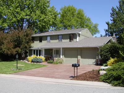 Boulder Single Family Home Active: 7441 Old Mill