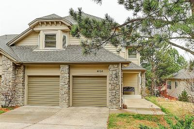 Castle Rock Condo/Townhouse Under Contract: 4204 Morning Star Drive