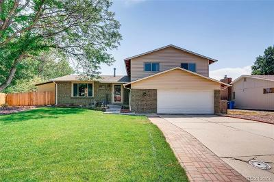 Arvada Single Family Home Under Contract: 11720 West 72nd Place