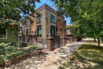 Denver Condo/Townhouse Active: 1651 North Franklin Street