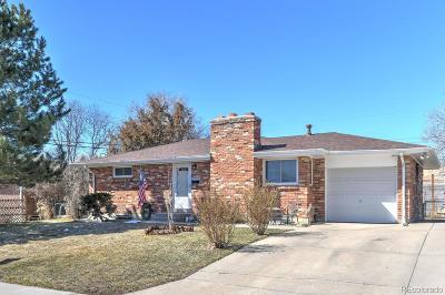 Aurora, Denver Single Family Home Under Contract: 8063 Wyandot Street