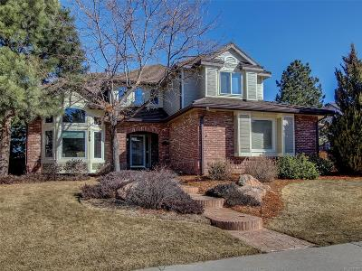 Highlands Ranch Single Family Home Active: 3709 White Bay Drive