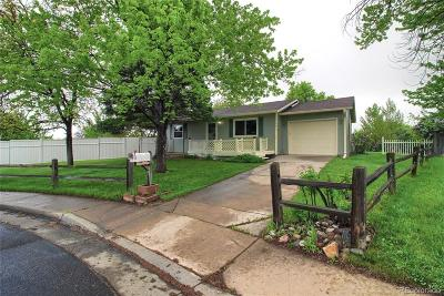 Broomfield Single Family Home Under Contract: 3198 West 134th Way