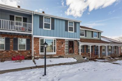 Centennial Condo/Townhouse Under Contract: 2540 East Geddes Place