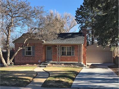 Denver Single Family Home Active: 640 Kearney Street