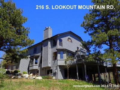 Golden Rental Active: 216 South Lookout Mountain Road