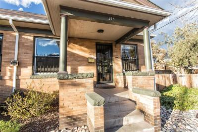 Denver Condo/Townhouse Active: 313 West 2nd Avenue