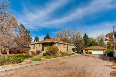 Wheat Ridge Single Family Home Active: 3070 Pierce Street