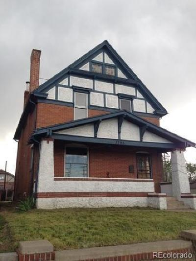 Denver Single Family Home Under Contract: 3795 Meade Street