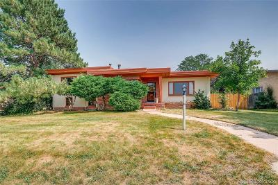 Denver Single Family Home Under Contract: 1950 Newton Street