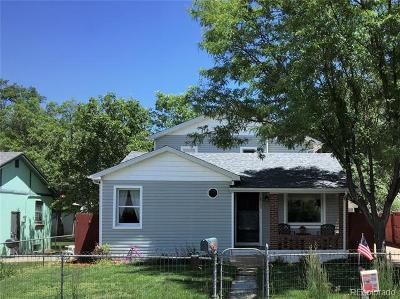 Englewood Single Family Home Active: 4188 South Washington Street