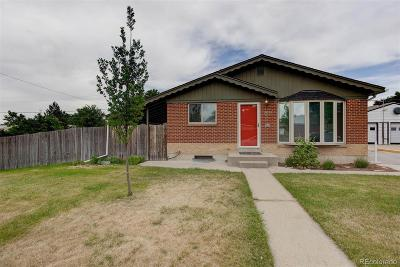 Northglenn Single Family Home Under Contract: 10928 Larry Drive