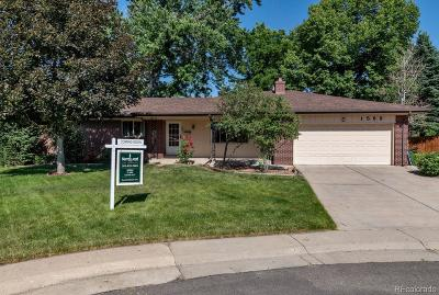Lakewood Single Family Home Active: 1569 South Gray Street