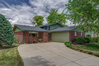 Centennial Single Family Home Under Contract: 7361 South Eudora Way