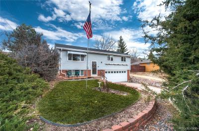 Castle Rock Single Family Home Under Contract: 340 Anderson Street