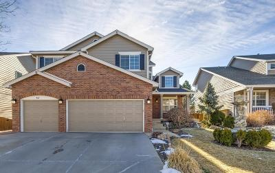 Highlands Ranch Single Family Home Under Contract: 467 Rose Finch Circle