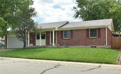 Northglenn Single Family Home Active: 11909 High Street