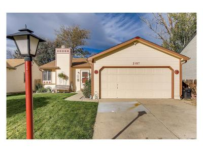 Longmont Single Family Home Active: 2187 Hackberry Circle