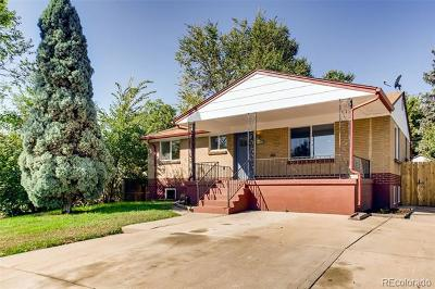 Denver Single Family Home Active: 4675 Zuni Street