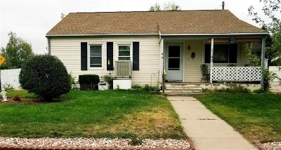 Greeley Single Family Home Active: 1102 33rd Avenue