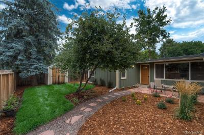 Niwot Single Family Home Active: 6967 Miro Court