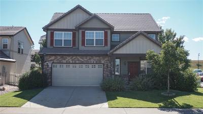 Castle Rock Single Family Home Under Contract: 4165 Bountiful Circle