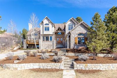 Castle Rock Single Family Home Under Contract: 875 Wolverine Court