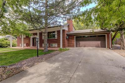 Wheat Ridge Single Family Home Active: 13 Paramount Parkway