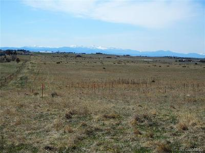 Franktown Residential Lots & Land Active: 10440 Lucas Avenue