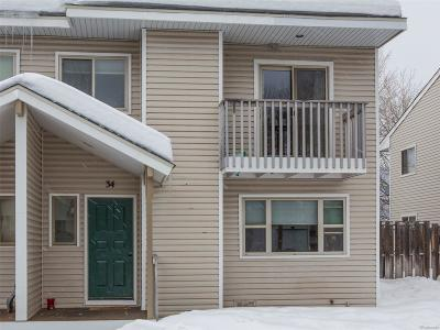 Steamboat Springs Condo/Townhouse Under Contract: 34 Cypress Court