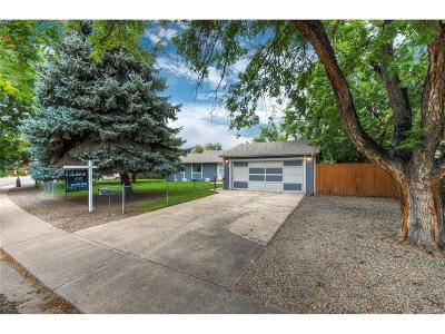 Longmont Single Family Home Under Contract: 954 Martin Road