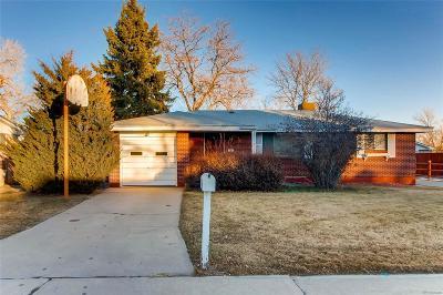 Arvada Single Family Home Active: 7042 Marshall Street