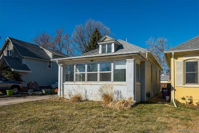 Denver Single Family Home Active: 3835 Yates Street