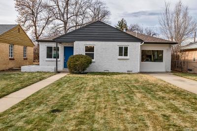 Single Family Home Active: 2885 Ivanhoe Street