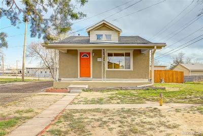 Commerce City Single Family Home Under Contract: 6750 Bowen Court