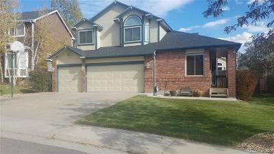 Littleton Single Family Home Under Contract: 10917 West Dumbarton Circle