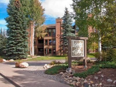 Steamboat Springs Condo/Townhouse Active: 2700 Village Drive #B108