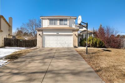 Centennial Single Family Home Under Contract: 5450 South Jericho Way