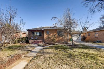 Englewood Single Family Home Under Contract: 3116 South Franklin Street