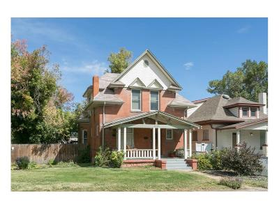 Denver Single Family Home Active: 2781 West 38th Avenue