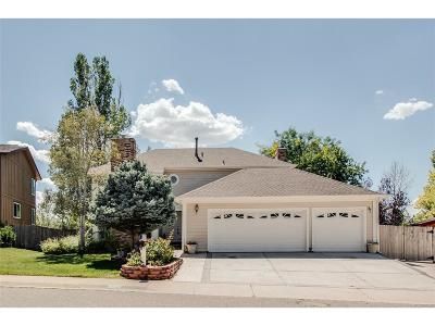 Centennial Single Family Home Under Contract: 18408 East Berry Drive