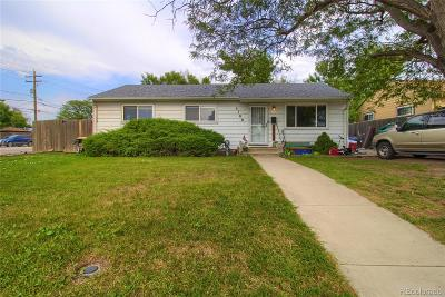 Littleton Single Family Home Active: 5100 South Grant Street