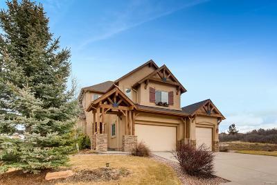 Colorado Springs Single Family Home Active: 1082 Hummingbird Court