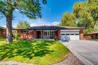 Littleton Single Family Home Active: 5911 South Greenwood Circle