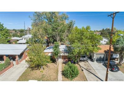 Denver Single Family Home Active: 4605 West 10th Avenue