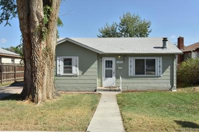 Greeley Single Family Home Under Contract: 2511 West 9th Street