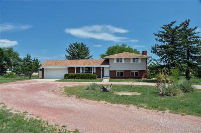 Colorado Springs Single Family Home Active: 7513 Tudor Road