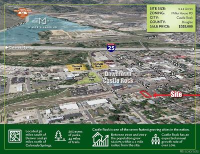 Castle Rock Residential Lots & Land Active: 218 Front Street