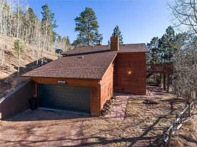 Woodland Park Single Family Home Active: 9525 Canyon Drive